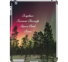 Doctor Who- Together Forever Through Space And Time iPad Case/Skin