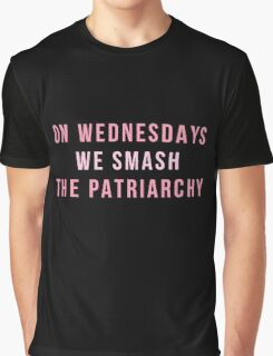 On Wednesday's We Smash The Patriarchy Graphic T-Shirt