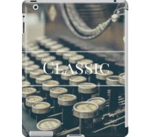 For the lovers of the classics  iPad Case/Skin