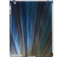 Grungy retro urban lines. iPad Case/Skin