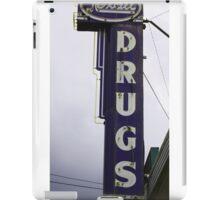 Rexall Drugs in Blue Ridge,North Carolina iPad Case/Skin