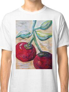 Cherries on White Chocolate Classic T-Shirt