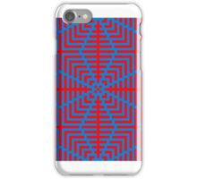 A Red Ripple iPhone Case/Skin