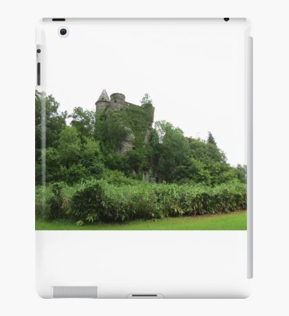 Castle Reclaimed by Nature iPad Case/Skin