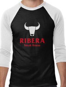 Ribera Steak House Men's Baseball ¾ T-Shirt
