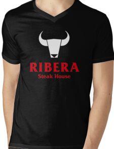 Ribera Steak House Mens V-Neck T-Shirt