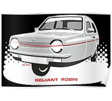 Reliant Regal 3/30 saloon Poster