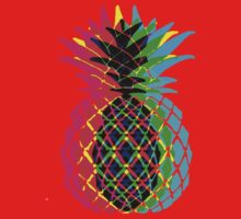 CMYK Pineapple Kids Tee