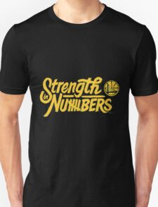 Golden State Warriors STRENGTH IN NUMBERS Unisex T-Shirt