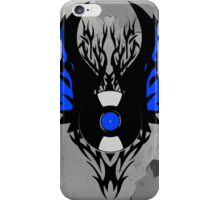 Vinyl Record Tribal Wings iPhone Case/Skin