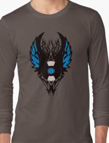 Vinyl Record Tribal Wings Long Sleeve T-Shirt