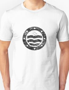 Distressed Simple Seascape Unisex T-Shirt