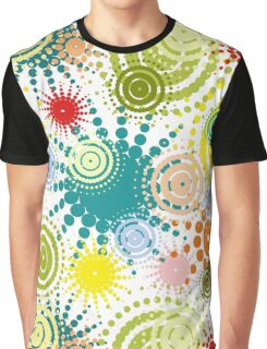 colorful abstract seamless pattern Graphic T-Shirt
