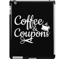 Coffee & Coupons iPad Case/Skin