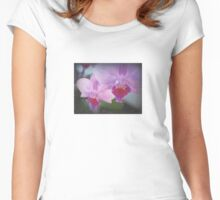 Orchids Women's Fitted Scoop T-Shirt