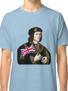 King Richard III Supports Leicester Football (Soccer) Classic T-Shirt
