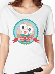 Rowlet Post Women's Relaxed Fit T-Shirt