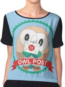 Rowlet Post Chiffon Top