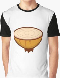 Cute Onion Graphic T-Shirt