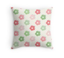 Cute simple floral pattern Throw Pillow