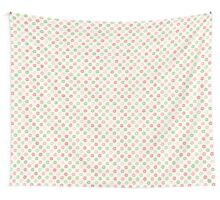 Cute simple floral pattern Wall Tapestry