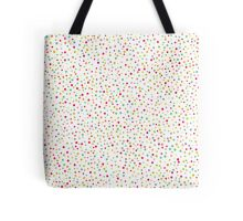 Cute confetti seamless pattern Tote Bag