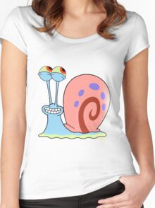 Gary smile Women's Fitted Scoop T-Shirt