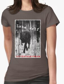 LONE WOLF Womens Fitted T-Shirt