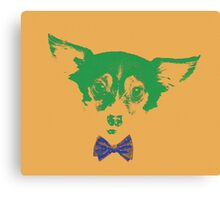 Dog love - Foxy Canvas Print