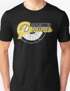 Roadrunner Pedicab - In Grunge Yellow T-Shirt