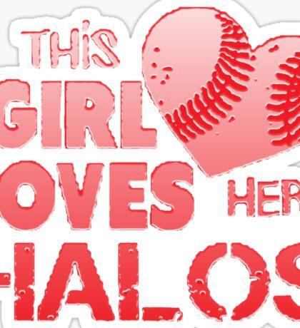 Angels Love Their Halos Sticker