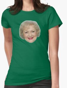 Betty White Womens Fitted T-Shirt