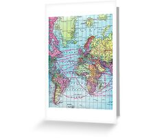 Around the world.. Travel Free! Greeting Card