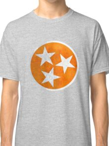 Tennessee Flag in Orange Classic T-Shirt