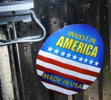 Invest in America Sticker