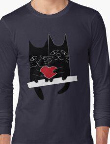 Cats love Long Sleeve T-Shirt