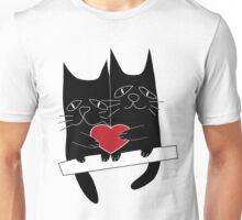 Cats love Unisex T-Shirt