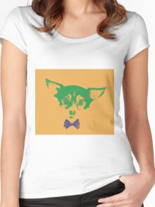 Dog love - Foxy Women's Fitted Scoop T-Shirt