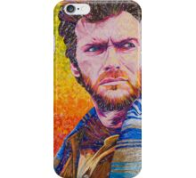 The Eastwood Stare Down iPhone Case/Skin