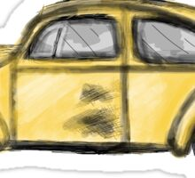 Emma's beetle car (Once Upon A Time) Sticker