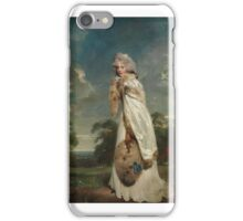 Elizabeth Farren (born about ), Later Countess of Derby ,  Sir Thomas Lawrence iPhone Case/Skin