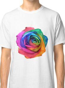Rainbow Rose 01 Classic T-Shirt