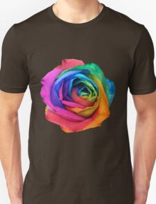 Rainbow Rose 01 Unisex T-Shirt