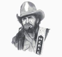 Merle Ronald Haggard Kids Tee