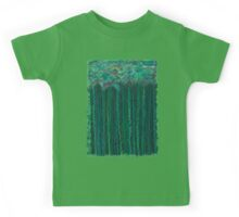 Tufts on Stems in Water Kids Tee