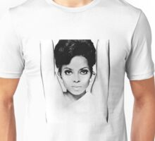 DIANA ROSS FACE GRAPH Unisex T-Shirt
