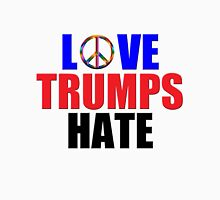 Love Trumps Hate Peace Sign for Bernie Sanders Supporters Anti-Trump  Unisex T-Shirt
