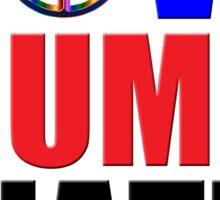 Love Trumps Hate Peace Sign for Bernie Sanders Supporters Anti-Trump  Sticker