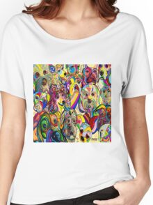 Dogs, Dogs, DOGS! Women's Relaxed Fit T-Shirt