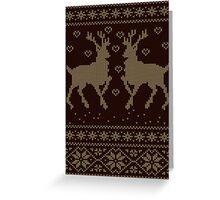 Deers Greeting Card